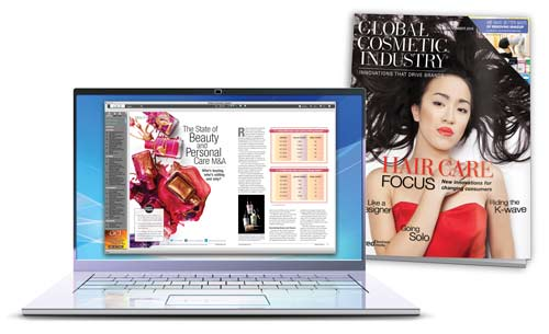 Global Cosmetic Industry magazine