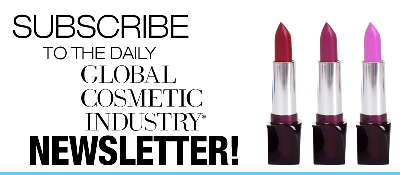 Subscribe to the Daily Global Cosmetic Industry Newsletter